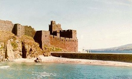Peel Castle, St. Patrick's Isle, Isle of Man